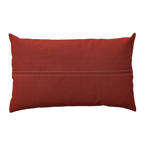 FESTHOLMEN, spilv. pārv. lietoš. telpās vai ārā 65x40 cm sarkanā krāsā/gaiši pelēcīgā smilškrāsā