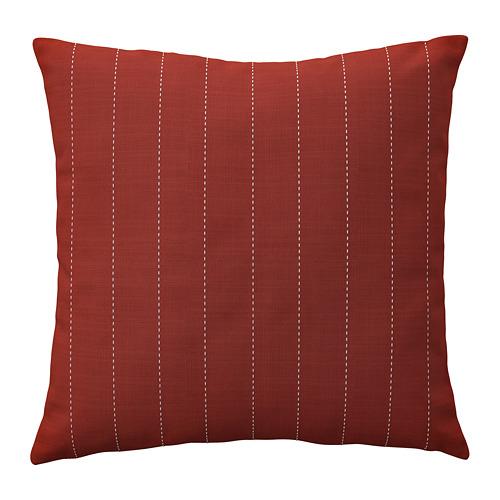 FESTHOLMEN, spilv. pārv. lietoš. telpās vai ārā 50x50 cm sarkanā krāsā/gaiši pelēcīgā smilškrāsā
