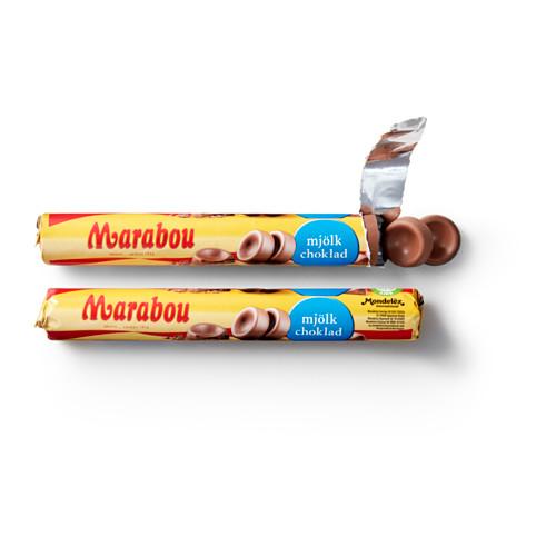 MARABOU piena šokolādes trubiņa