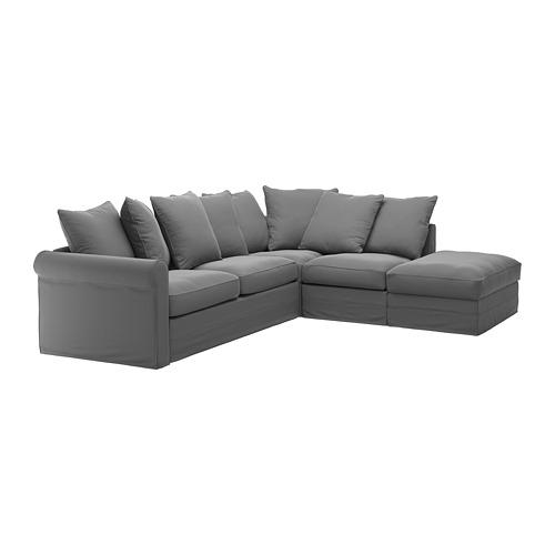 GRÖNLID 4-vietės k. sofos-lovos užvalkalas