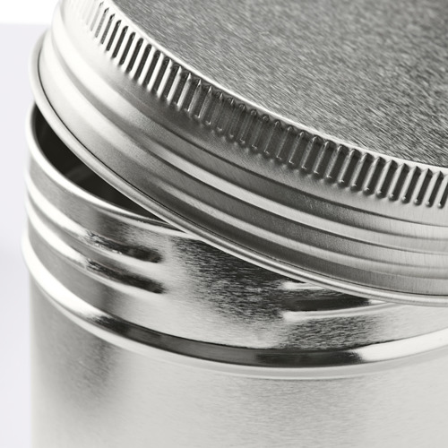 ANILINARE storage tin with lid, set of 3