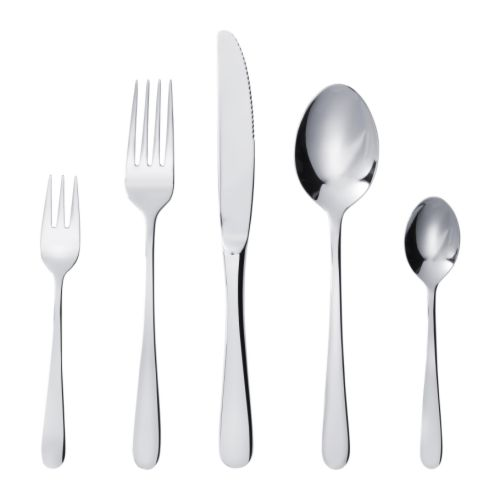 BILDAD 60-piece cutlery set