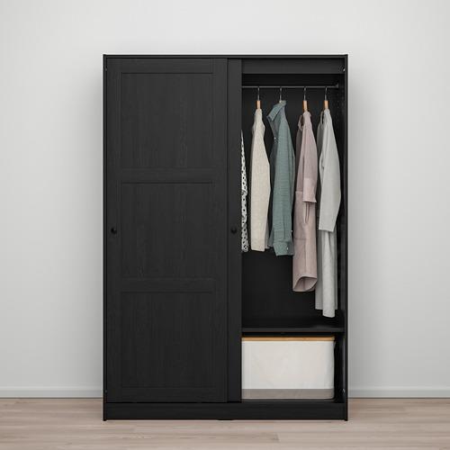 RAKKESTAD wardrobe with sliding doors