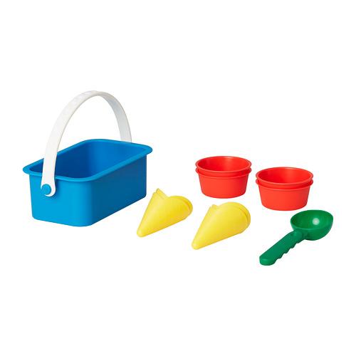 SANDIG игрушечный набор д/мороженого,10прд