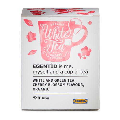 EGENTID белый чай
