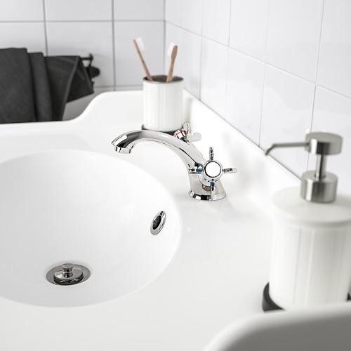 RUNSKÄR wash-basin mixer tap with strainer