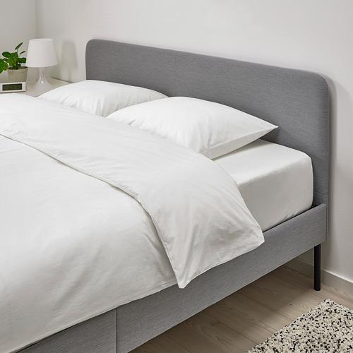 SLATTUM upholstered bed frame