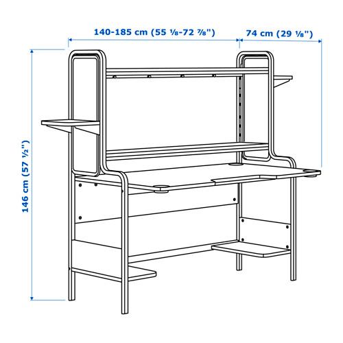 FREDDE rašomasis stalas