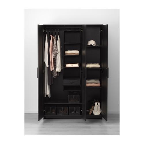 BRIMNES шкаф платяной 3-дверный