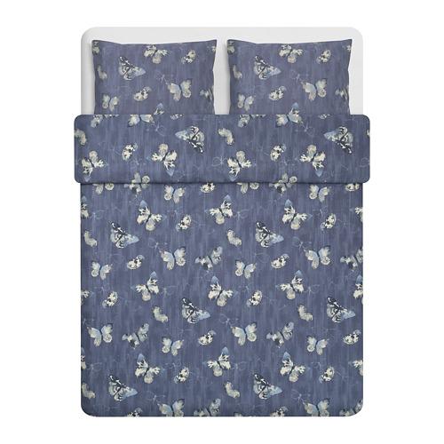 BERGKÅREL antklodės užv. ir 2 pagalv. užv.