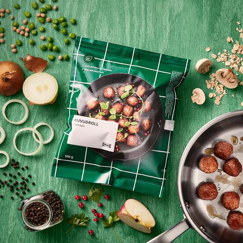 HUVUDROLL овощные фрикадельки/гороховый белок