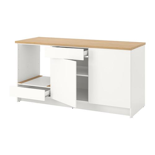 KNOXHULT напольный шкаф с дверцами и ящиком