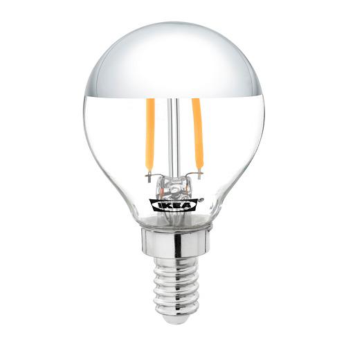 SILLBO LED lemputė E14, 140 liumenų