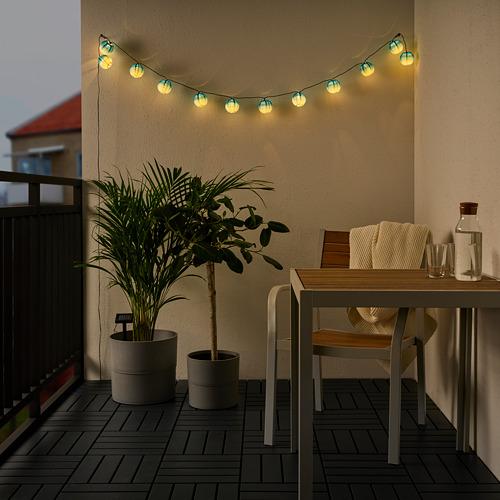 SOLVINDEN 12 LED lempučių girlianda