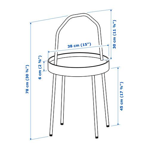BURVIK придиванный столик