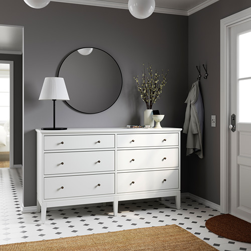 IDANÄS chest of 6 drawers