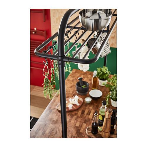 VADHOLMA virtuvinės salos lentyna