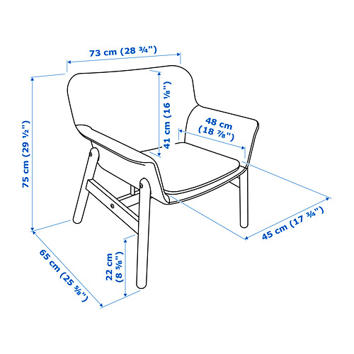 VEDBO armchair