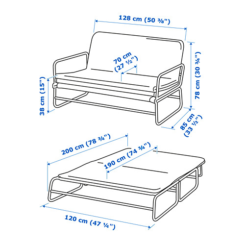 HAMMARN диван-кровать