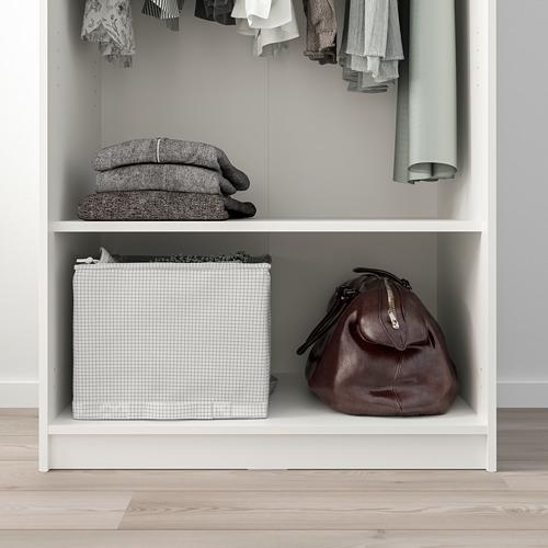 KLEPPSTAD гардероб 2-дверный
