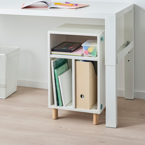 SMUSSLA bedside table/shelf unit