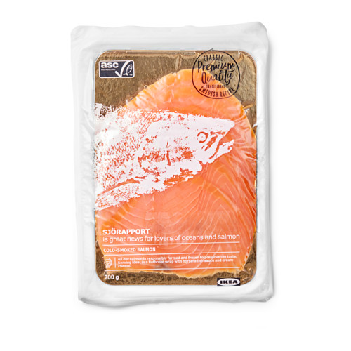 SJÖRAPPORT cold smoked salmon