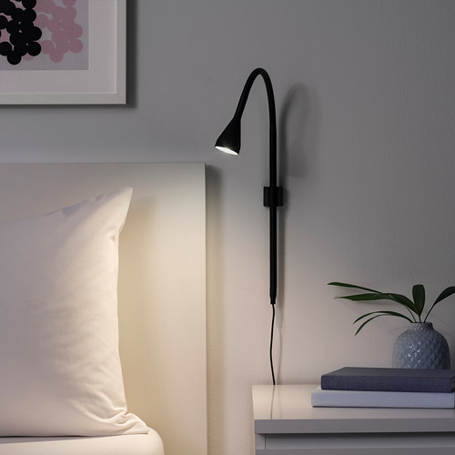 NÄVLINGE LED seina-/klamberlamp