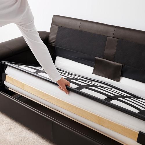 LIDHULT divvietīgs guļamdīvāna modulis