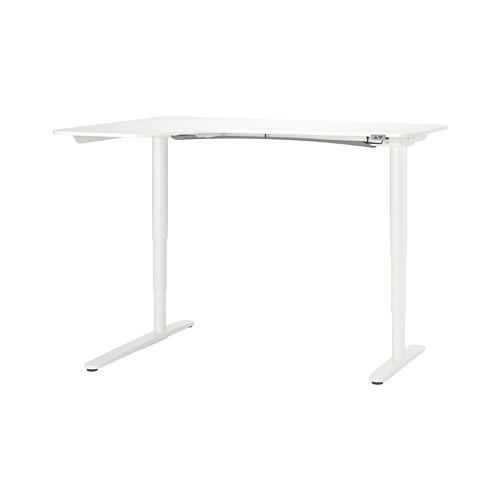 BEKANT keičiamo aukščio kam. stalas, kair.