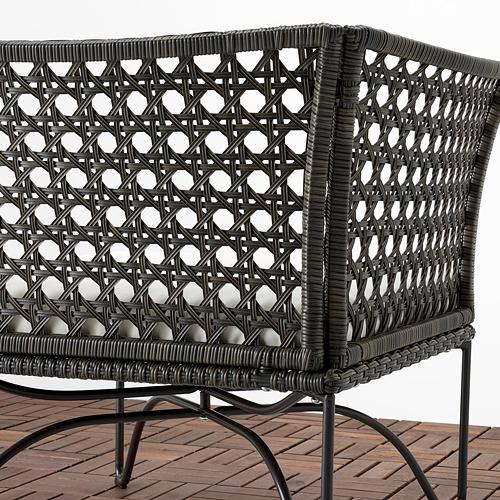 JUTHOLMEN divvietīgs moduļu dīvāns lietoš.ārā