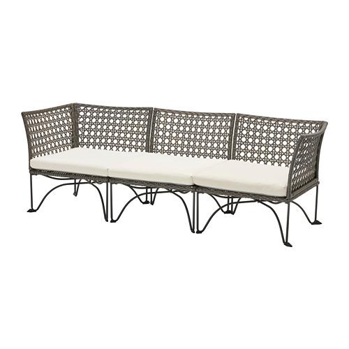 JUTHOLMEN trivietė modulinė lauko sofa