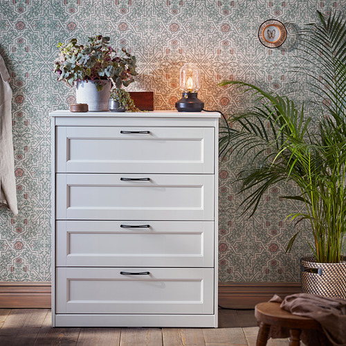 SONGESAND chest of 4 drawers