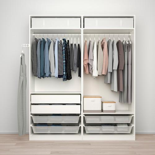TYSSEDAL/PAX wardrobe combination
