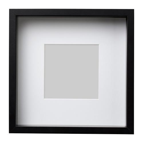 SANNAHED pildiraam 25x25 cm must
