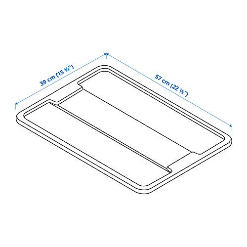 SAMLA lid for box 45/65 l