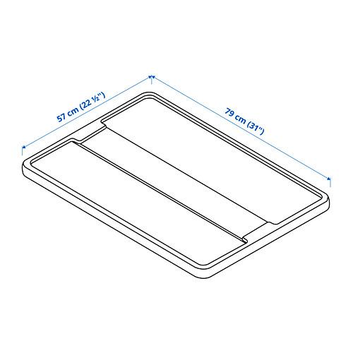 SAMLA крышка для контейнера 55/130 л