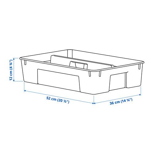 SAMLA 45/65 l dėžės skirtukas