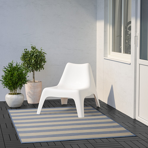 VRENSTED rug flatwoven, in/outdoor