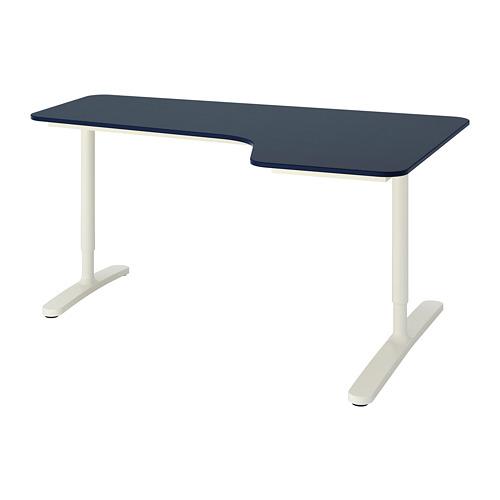 BEKANT kampinis rašomasis stalas, deš.