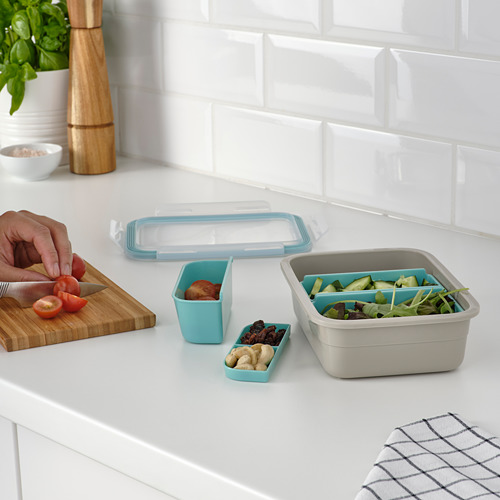 IKEA 365+ lunch box with inserts