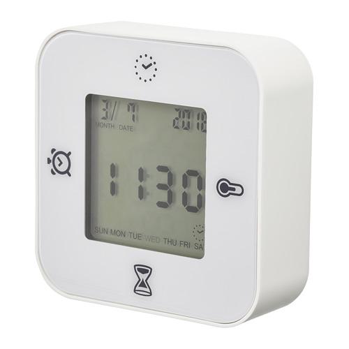KLOCKIS laikrodis/termom./žadint./laikmatis