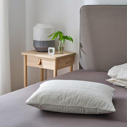 RUMSMALVA ergonomic pillow, side/back sleeper
