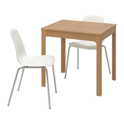 LEIFARNE/EKEDALEN стол и 2 стула