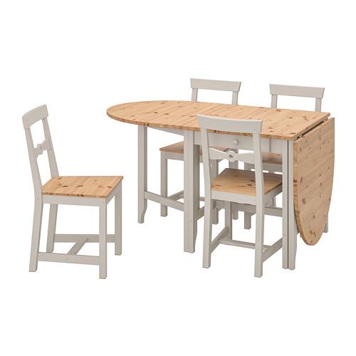 GAMLEBY стол и 4 стула