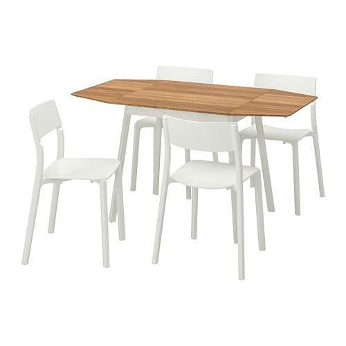 JANINGE/IKEA PS 2012 стол и 4 стула