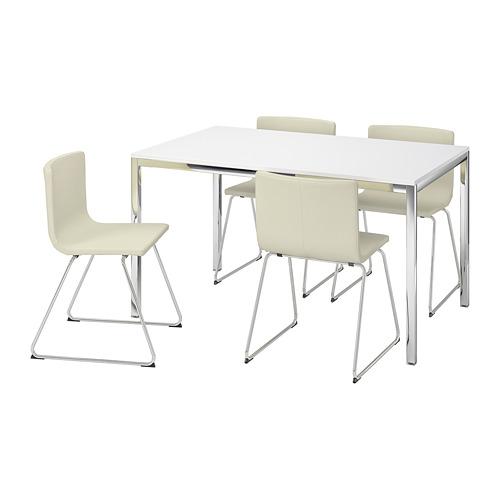 TORSBY/BERNHARD stalas ir 4 kėdės