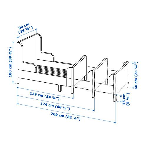 BUSUNGE раздвижная кровать