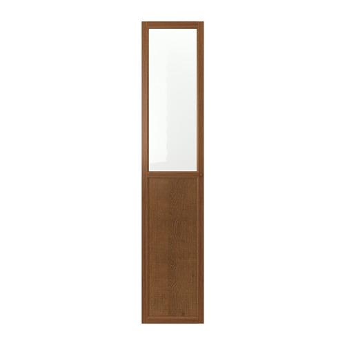 OXBERG plokštinės-stiklinės durys