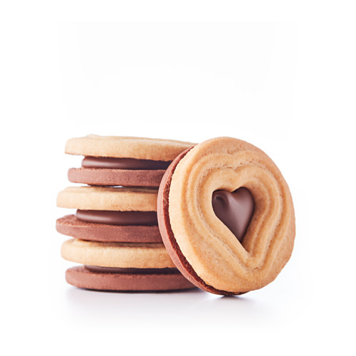 KAFFEREP biscuits with chocolate filling