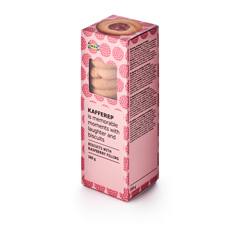 KAFFEREP biscuits with raspberry filling